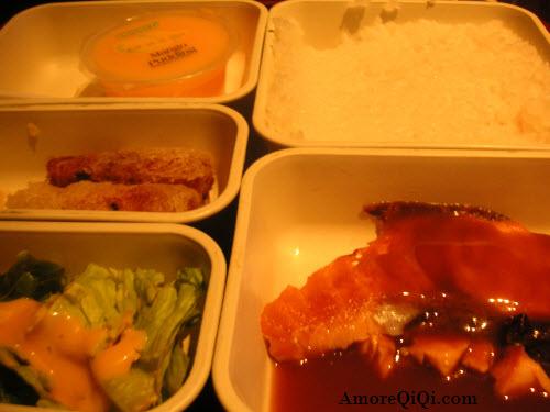 salmon fish with BBQ sauce