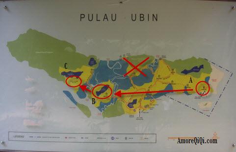 Pulau Ubin Map 2