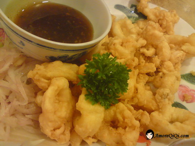 Deep Fried Sotong in Thai Style