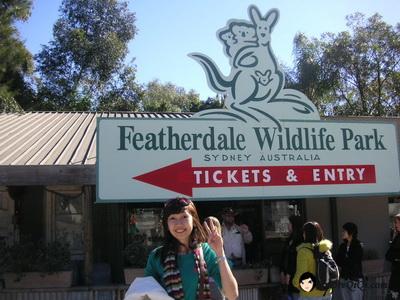 Featherdale Wildlife Park Sydney Australia