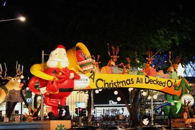 Singapore Orchard Christmas 2009
