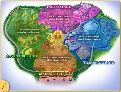 disneyland california map of park. disneyland california map of