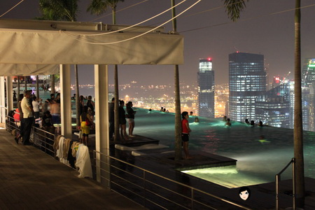 Life has just begun because of everything blog archive marina bay sands singapore for Marina bay sands swimming pool entrance fee